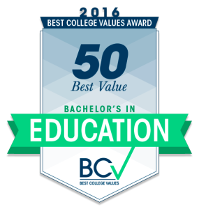 50-Best-Value-Bachelor's-in-Education---Best-College-Values-Award-2016