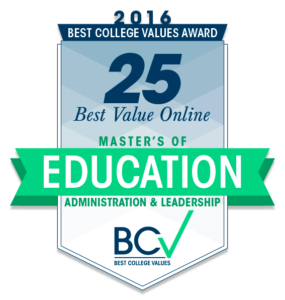 25 best value online masters of education administration and
