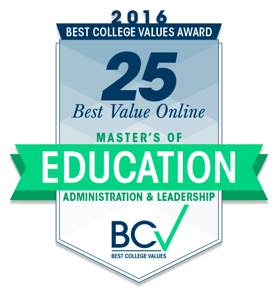 25 Best Value Online Masters of Education—Administration and ...