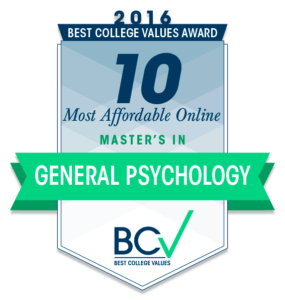 10 Most Affordable Online Master's Degrees in General Psychology 2016