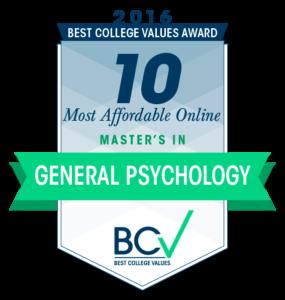 10 Most Affordable Online Master's Degrees in General Psychology 2016