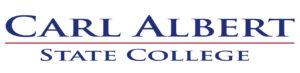 36- Oklahoma - Carl Albert State College logo
