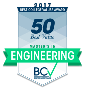 50 Best Value Master's in Engineering 2017