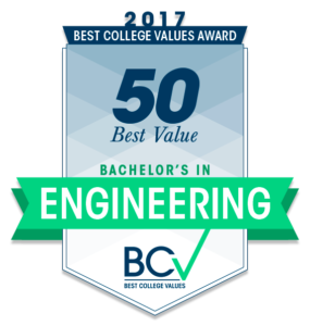 50 Best Value Bachelor's in Engineering 2017