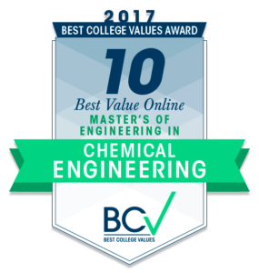 10 BEST VALUE ONLINE MASTER'S OF ENGINEERING IN CHEMICAL ENGINEERING