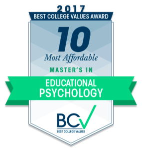 10 MOST AFFORDABLE MASTER'S DEGREES IN EDUCATIONAL PSYCHOLOGY 2017