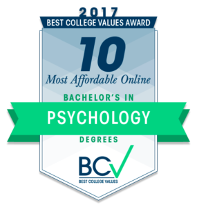 10 MOST AFFORDABLE ONLINE BACHELOR'S DEGREES IN PSYCHOLOGY
