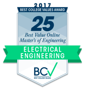 25 BEST VALUE ONLINE MASTER'S OF ENGINEERING IN ELECTRICAL ENGINEERING