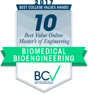 10 BEST VALUE ONLINE MASTER'S OF ENGINEERING IN BIOMEDICAL & BIOENGINEERING