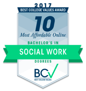 10 MOST AFFORDABLE ONLINE BACHELOR'S DEGREES IN SOCIAL WORK