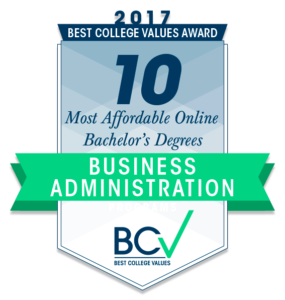 10 Most Affordable Online Bachelor's Degrees in Business Administration 2017