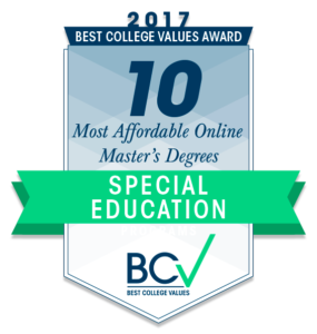 10 Most Affordable Online Master's Degrees in Special Education 2017