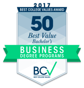 50 Best Value Bachelor's in Business Degree Programs 2017