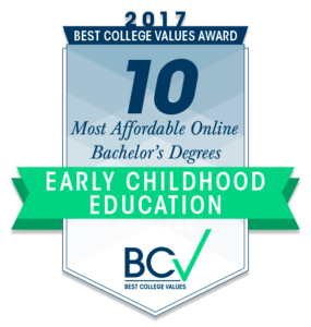 values of early childhood education Spark montessori's mission provide an authentic, dedicated, and modern  montessori experience for children so that they may discover and nurture the  unique.
