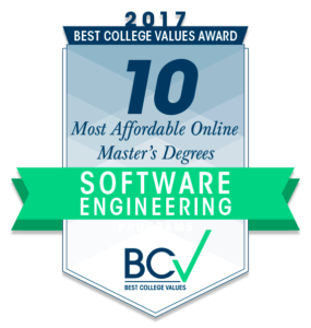 10 MOST AFFORDABLE ONLINE MASTER'S DEGREES IN SOFTWARE ENGINEERING