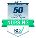 50 Best Value Master's of Nursing 2017