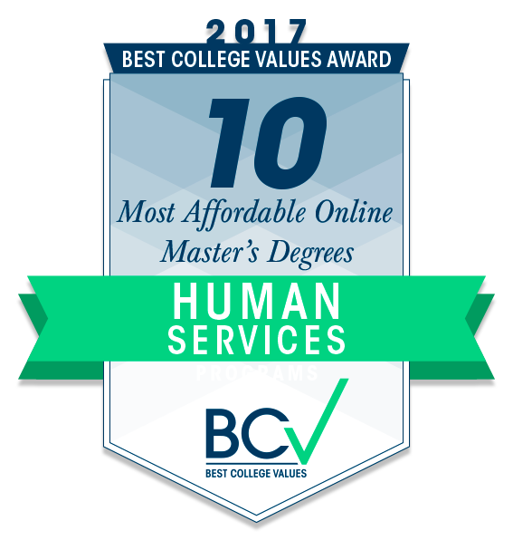 10 Most Affordable Online Master's Degrees in Human Services
